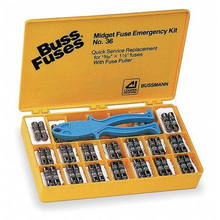 Fuse Kit 270 MDL MDA AGC ABC GMA by USA Eaton Bussmann Circuit Fuse Accessories