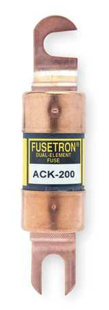 200A Time Delay Bolt On Paper Fuse 72VDC by USA Eaton Bussmann Circuit Protection Fuses