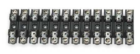 Fuse Block Glass and Ceramic 30A 12 Pole by USA Eaton Bussmann Circuit Fuse Blocks & Holders