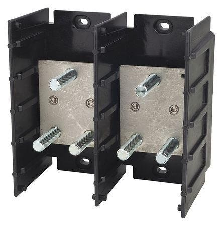 Pwr Dist Block 400A 2P Primary 600VAC by USA Bussmann Electrical Wire Power Distribution Blocks