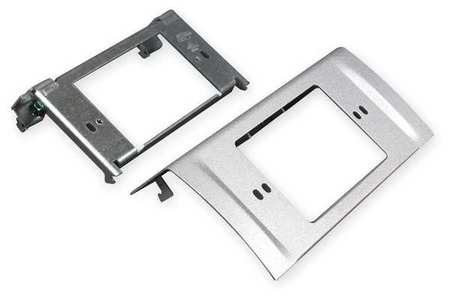 NEMA Device Plate Gray Steel Plates by USA Legrand Electrical Raceway Fittings