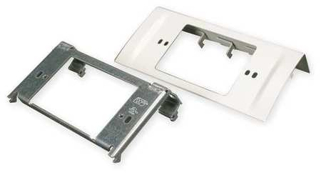 NEMA Device Plate Ivory Steel Plates by USA Legrand Electrical Raceway Fittings