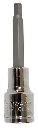 Westward Socket Bit 1/2 in. Dr 6mm Hex