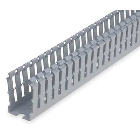 Wire Duct Narrow Slot Gray Width 1.25In by USA Ty Rap Wiring Ducts
