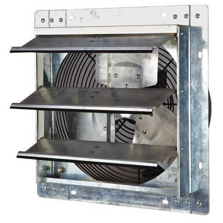 Shutter-Mount Exhaust Fans