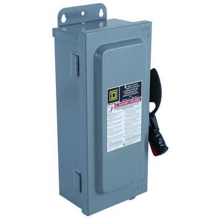 600 Amp 600VAC Single Throw Safety Switch 3P Min. Qty 5 by USA Square D Electrical Safety & Disconnect Switches