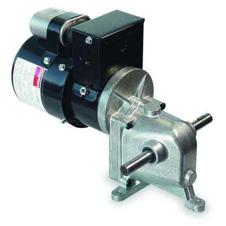 AC Gearmotor 21 rpm TENV 115/230V by USA Dayton AC Gear Motors