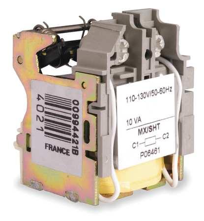 Shunt Trip 0.08A 120VAC H J L Frame by USA Square D Circuit Breaker Accessories