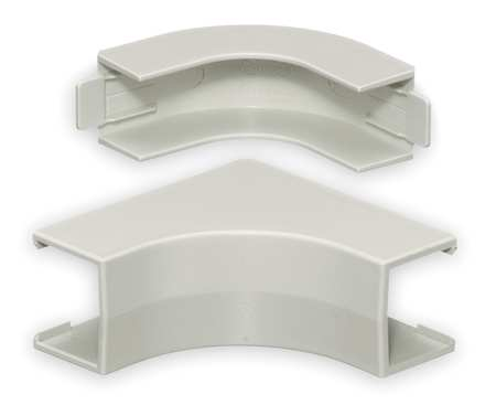 Internal Elbow Base and Cover White Model PP1IEBC by USA Hubbell Kellems Electrical Raceway Fittings
