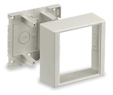 Deep Device Box White PVC Boxes by USA Hubbell Kellems Electrical Raceway Fittings