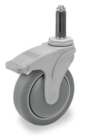 Value Brand Swivel Stem Cstr w/Totl Lock 4 in 275 lb