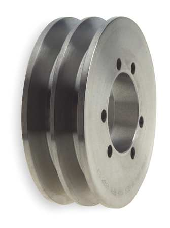 V-Belt Pulleys,  QD,  2 Groove,  Solid Const.