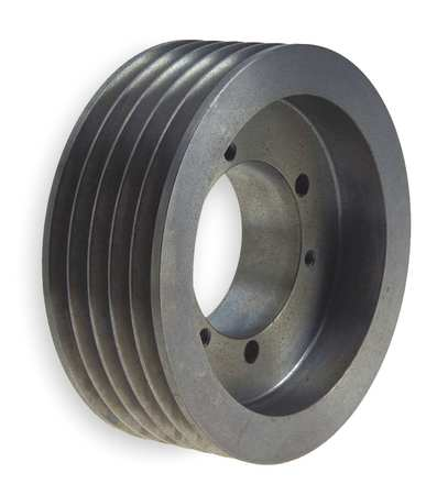 V-Belt Pulleys,  QD,  5 Groove,  Solid Const.