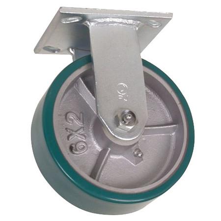 Value Brand Rigid Plat Castr Polyurthan 6 in 1230 lb
