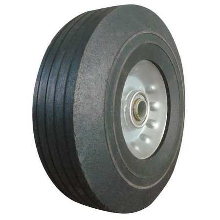 Value Brand Solid Rubber Wheel 8 in. 400 lb. Sym