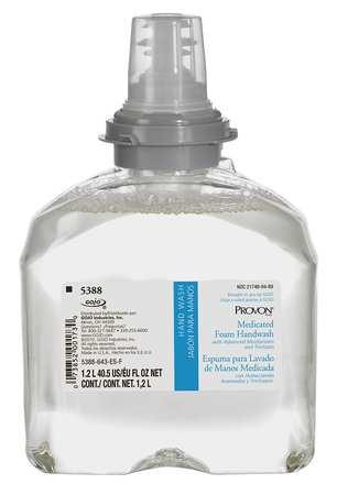 Medicated Foam Handwash 1200mL Refill for TFX Dispenser, PK2