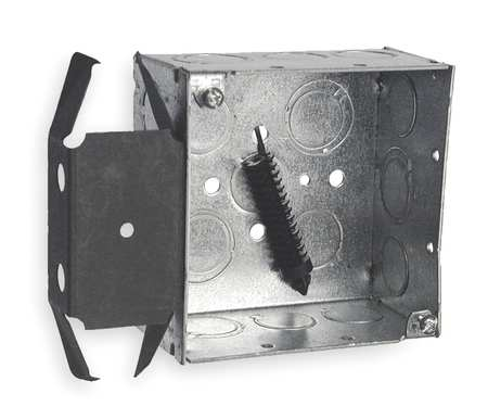 Electrical Box Square with Bracket Model 238 by USA Raco Electrical Boxes
