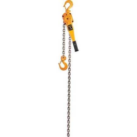 Harrington Lever Chain Hoist 6000 lb. Lift 10 ft.