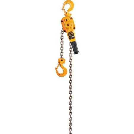 Harrington Lever Chain Hoist 5500 lb. Lift 10 ft.