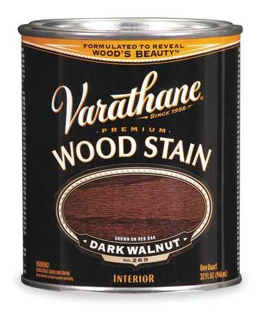 Wood Stain,dark Walnut,translucent,1 Qt.