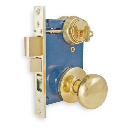 Battalion Light Duty Mortise Lockset Knob Handle 1tpz3