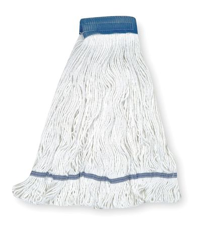 Looped-End Wet Mops,  Cotton/Rayon/Synthetic Blend