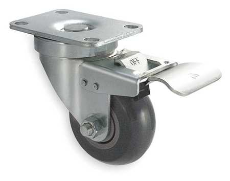 Light- and Medium-Duty Casters with Nonmarking Wheel