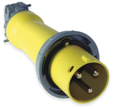 IEC Pin and Sleeve Plug 2P 3W 60A 125V by USA Hubbell Kellems Electrical Pin & Sleeve Devices