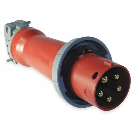 IEC Pin and Sleeve Plug 4P 5W 20A 480V by USA Hubbell Kellems Electrical Pin & Sleeve Devices