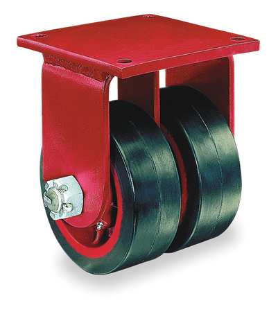 Value Brand Dual Whel Caster Rubber 8 in. 1000 lb.