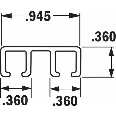 Tanis Strip Brush Holder Overall Length 36 In Type AH403236CF