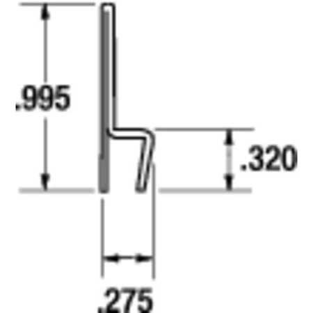 Tanis Strip Brush Holder Overall Length 36 In Type STH400036