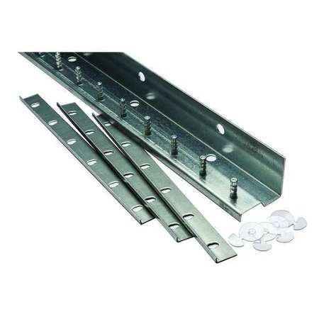 Tmi Save-T-Loc Strip Door Hardware 5ft Alum