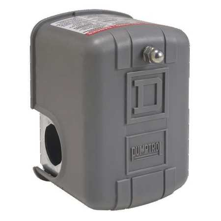 Pressure Switch Reverse DPST 40/20 psi by USA Square D Electrical Pressure Switches