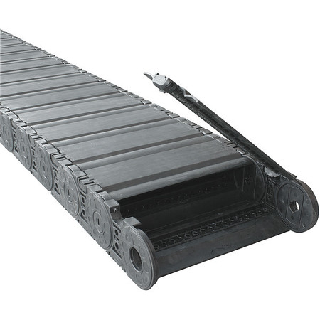 Varitrak(R) NylonTube Width 276mm 1 Ft by USA Kabelschlepp Electric Cable Carriers