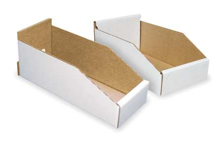 Corrugated Shelf Bins