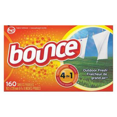 Bounce Box Outdoor Fresh Dryer Sheets 160 Pack