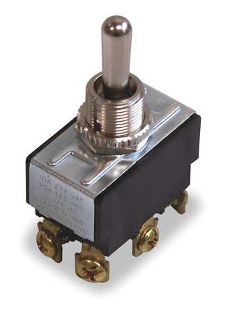 Toggle Switch DPDT 10A @ 250V QuikConnct Model 774115 by USA Ideal Electrical Switch Accessories