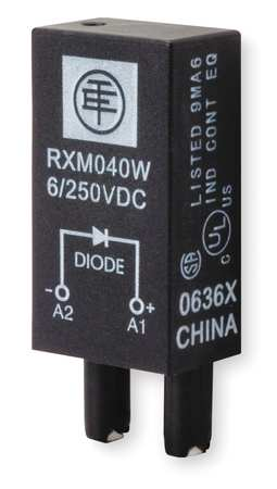 Protection Module Diode 6 250VDC by USA Schneider Electrical Relay Accessories