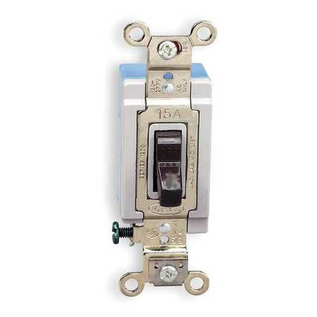 Wall Switch 1 Pole 120/277V 15A Brown by USA Hubbell Kellems Electrical Wall Switches