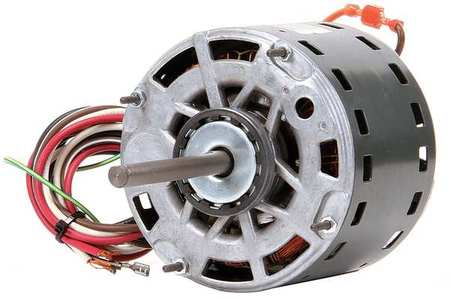 Motor PSC 1/3 HP 1075 RPM 115V 48YZ OAO by USA Genteq Direct Drive Permanent Split Capacitor Blower Motors