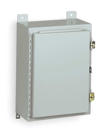 Enclosr Metallc 30In.H x 30In.W x 8In.D by USA Wiegmann Electrical Enclosures