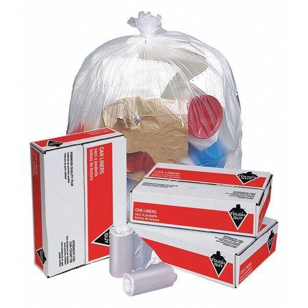 Trash Bags, 7 Gal., 6 Micron, Pk2000