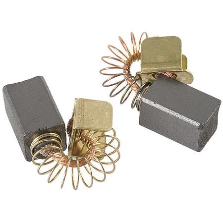 Motor Brush Set 9/16 In L 5/16 In W PK2 by USA Dayton Motor Parts
