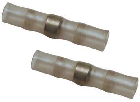 Butt Splice Connector 16 10AWG Gray PK25 by USA TE Connectivity Electrical Wire Terminals