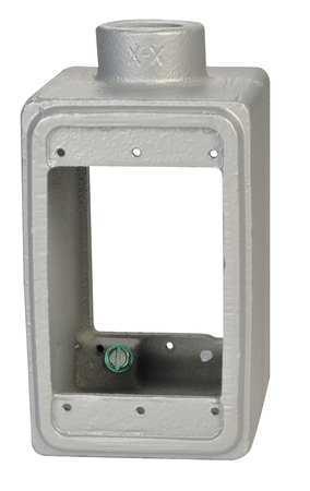 Weatherproof Box 1/2in Hub 18cu.in by USA Appleton Electrical Weatherproof Boxes