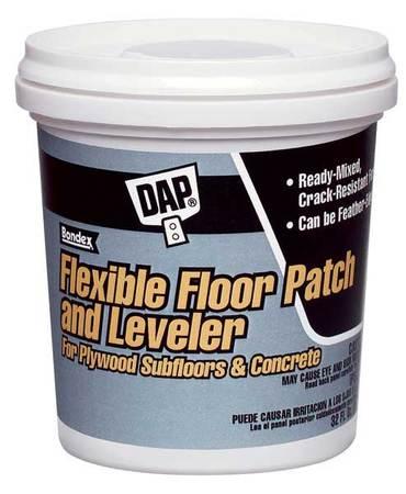 Dap Flexible Floor Patch 1 Gal Pail Lt Gray 59190