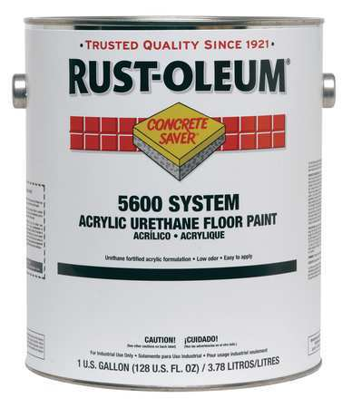5600 Floor Paint,safety Red,1 Gal.