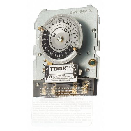 Time Switch Mechanism 208 277V by USA Tork Electrical Plug In & Wall Switch Timers