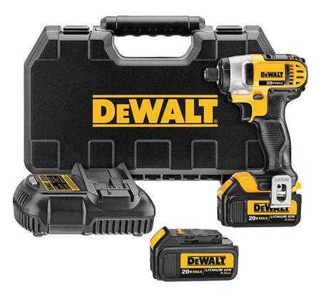 DeWalt DCF885M2 20V MAX Lithium Ion 1/4 Impact Driver Kit